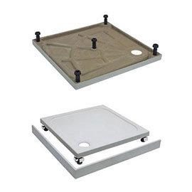Crosswater Leg & Panel Riser Kit for 45mm Rectangular Shower Tray - Various Size Options