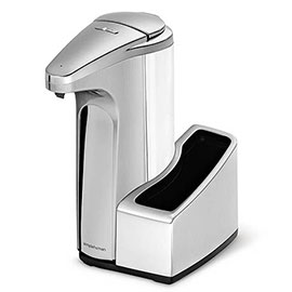 simplehuman Washing Liquid Sensor Pump Dispenser with Caddy - ST1031