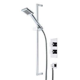 Roper Rhodes Event Square Single Function Shower System - SVSET16