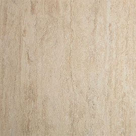 Showerwall Travertine Stone Waterproof Decorative Wall Panel - Various Size Options