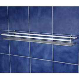Satina Single Shower Caddy Shelf - Chrome - 56490
