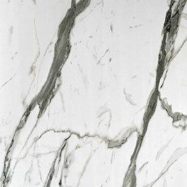 Showerwall Bianco Carrara Waterproof Decorative Wall Panel - Various Size Options