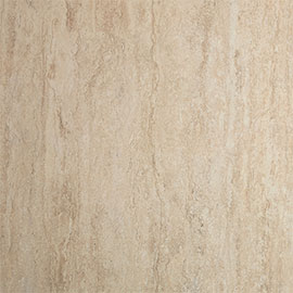 Showerwall Travertine Gloss Waterproof Decorative Wall Panel - Various Size Options