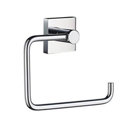 Smedbo House - Polished Chrome Toilet Roll Holder - RK341
