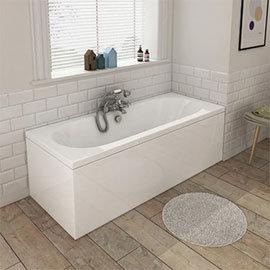 Sutton Premiercast Double Ended Bath