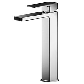 Asquiths Tranquil Tall Mono Basin Mixer With Push-Button Waste - TAD5109
