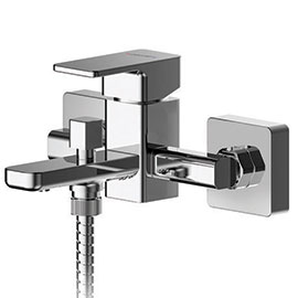 Asquiths Tranquil Wall Mounted Bath Shower Mixer with Shower Kit - TAD5127