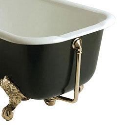 Heritage - Exposed Bath Waste & Overflow - Vintage Gold - THA16