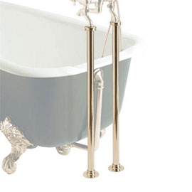 Heritage - Freestanding Standpipes - Vintage Gold - THA20
