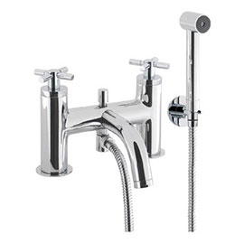 Crosswater - Totti Bath Shower Mixer with Kit - TO422DC