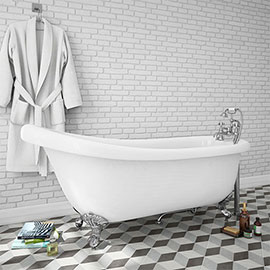 Oxford 1710 Roll Top Slipper Bath Medium Image