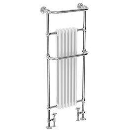 Dartford Traditional Floor Mounted Heated Towel Rail Radiator
