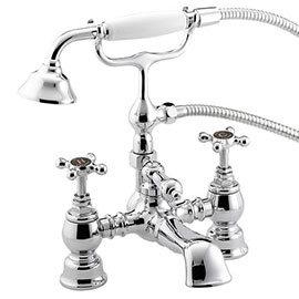 Bristan Trinity 2 Bath Shower Mixer Chrome - TY2-BSM-C