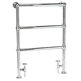 Hudson Reed Traditional Countess Heated Towel Rail - Chrome - HT301