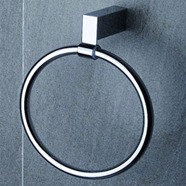 Tre Mercati - Edge Towel Ring - Chrome - 66560