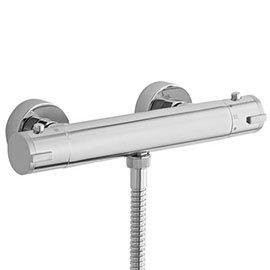 Ultra TMV2 Minimalist Thermostatic Bar Shower Valve - Bottom Outlet - VBS009