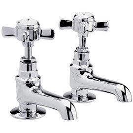 Traditional Basin Taps - Chrome - IJ321