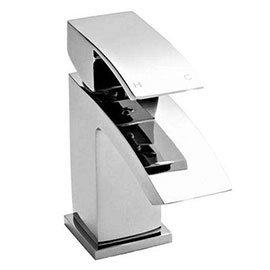 Nuie Vibe Cloakroom Mini Basin Mixer Tap Inc. Waste