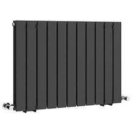 Urban Horizontal Radiator - Anthracite - Double Panel (600mm High)
