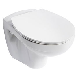 Armitage Shanks Sandringham 21 Wall Mounted WC + Soft Close Seat