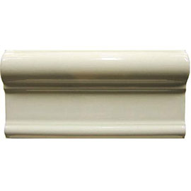 Cream Etruria Border Wall Tile - 152x76mm