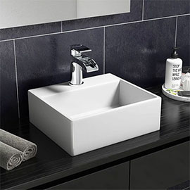 Cubetto 330 x 290mm Compact Counter Top Basin 1TH