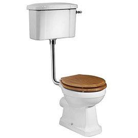Tavistock Vitoria Traditional Low Level Toilet