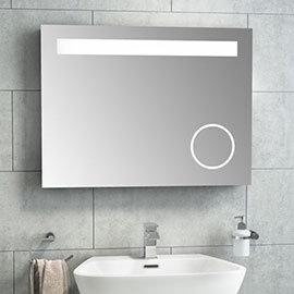 Vancouver 800x600mm LED Mirror inc. Infrared Sensor, Anti-Fog + Shaving Port