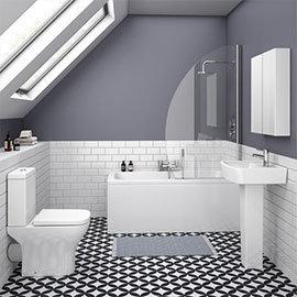 Venice Small 5-Piece Bathroom Suite