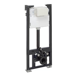 Crosswater - 1.14m Height Wall Hung WC Support Frame - WCF118X50+