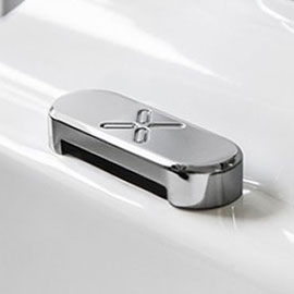 Crosswater - Chrome Overflow Cover - WFOVC