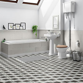 Winchester High Level Toilet Bathroom Suite