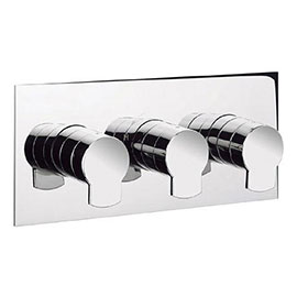 Crosswater - Wisp Thermostatic Shower Valve with 3 Way Diverter - WP3001RC