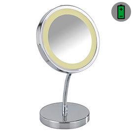 Wenko - Brolo LED Standing Mirror - Chrome - 3656360100