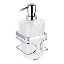 Wenko Premium Soap Dispenser - Stainless Steel - 20416100