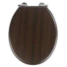 Wenko Wenge MDF Soft Close Toilet Seat