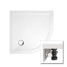 Zamori - 35mm Quadrant Shower Tray with Leg & Panel Set - Various Size Options