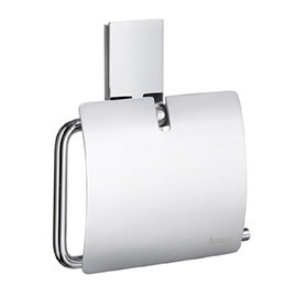 Smedbo Pool Toilet Roll Holder with Cover - Polished Chrome - ZK3414