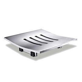 Zack Abacco Soap Dish - Stainless Steel - 40101