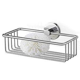 Zack - Scala 23.5cm Stainless Steel Shower Basket - 40084