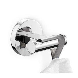 Zack - Scala Stainless Steel Double Towel Hook - 40063