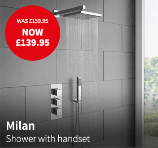 milan shower offer