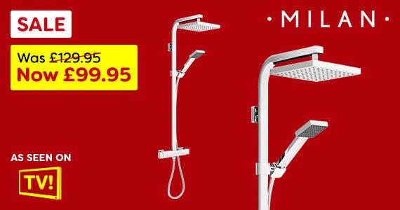 Milan Shower January Sale