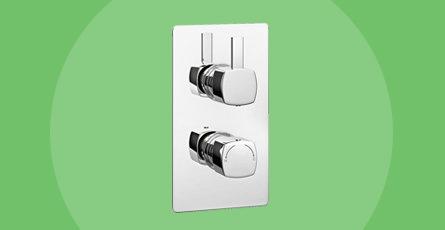 modern shower valve
