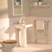 Traditional TV Bathroom