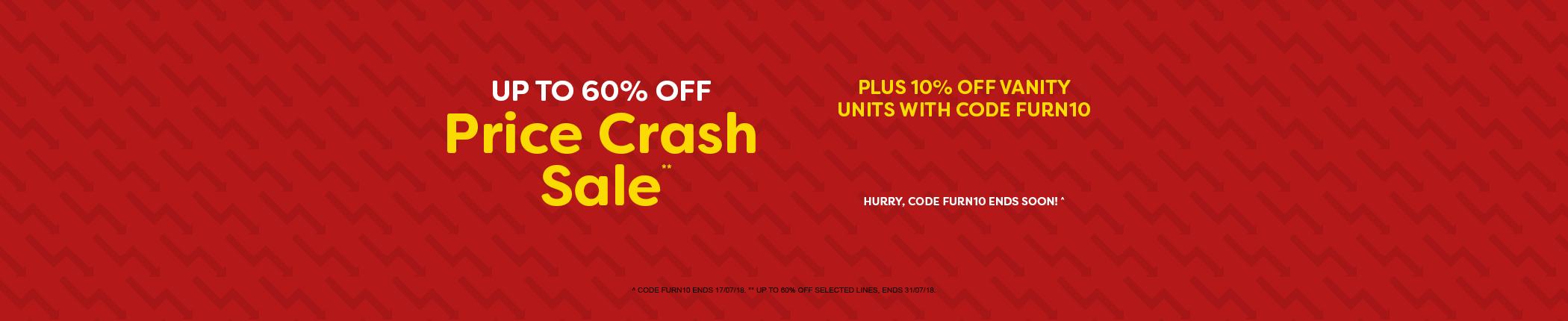 Price Crash Sale