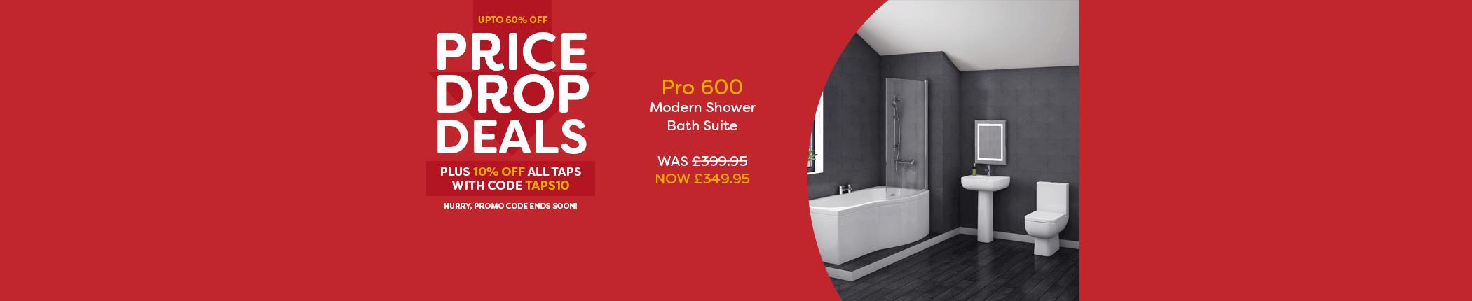 pricedropdeals-10off-taps-modern-shower-bath-countdown-june17-hbnr