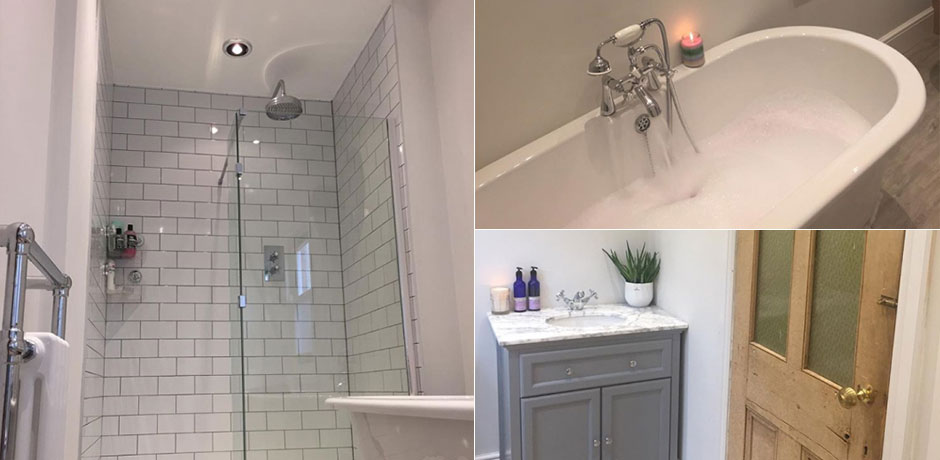 Legend Traditional Bathroom Suite At Victorian Plumbing Uk: Emma's Eclectic Bathroom