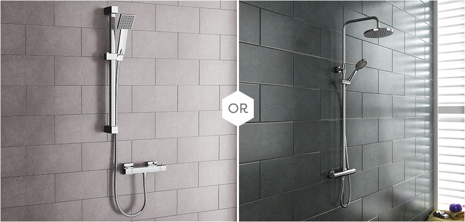 Shower Rail Kits Vs Shower Rigid Riser Kits