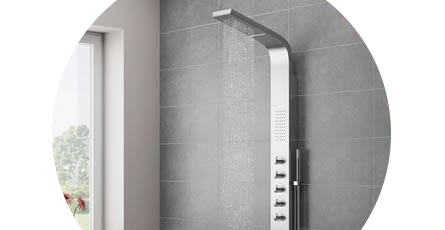 Shower tower | Shower tower panel | Victorian Plumbing